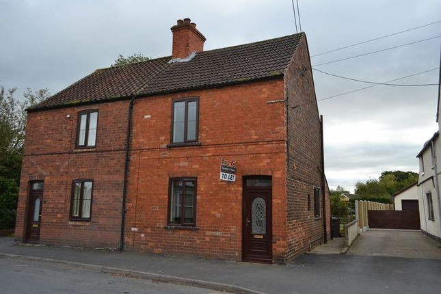 Thumbnail Semi-detached house to rent in 20, Church Street, Hibaldstow