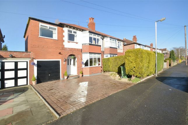 Thumbnail Semi-detached house for sale in Palmerston Road, Woodsmoor, Stockport, Cheshire