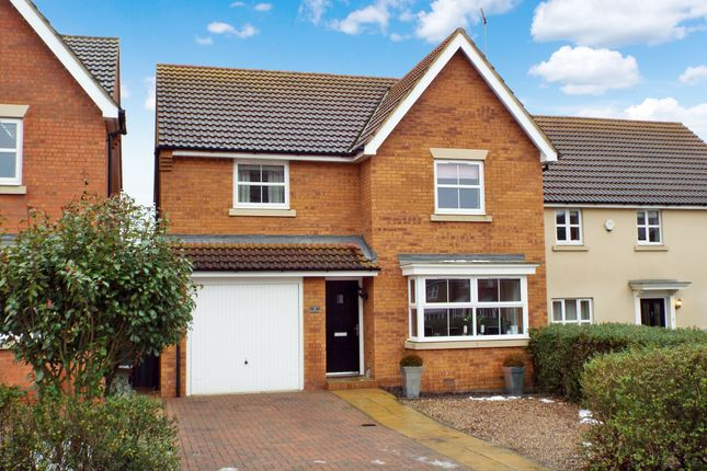 Thumbnail Detached house for sale in Biscay Close, Irchester, Northamptonshire