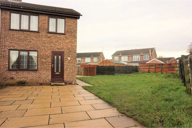 Thumbnail Semi-detached house for sale in Eastfield Drive, Askern, Doncaster