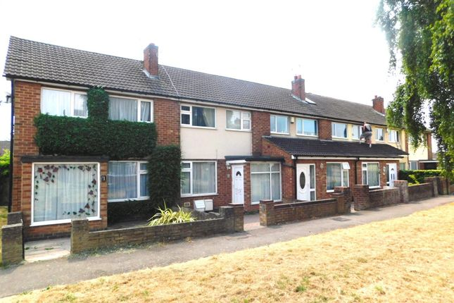 Thumbnail Terraced house to rent in Harris Green, Braunstone, Leicester