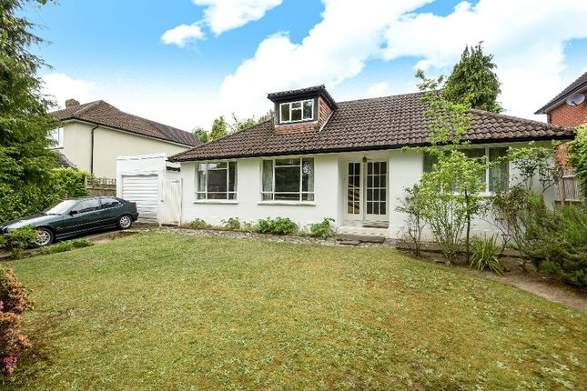 Thumbnail Bungalow for sale in Trotsworth Avenue, Virginia Water
