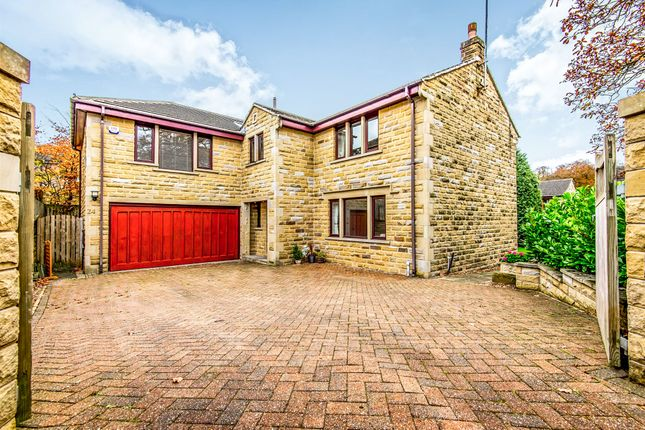 5 bed detached house for sale in Carr View Road, Hepworth, Holmfirth