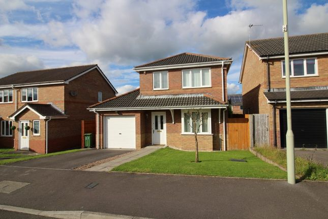 Thumbnail Detached house to rent in Authors Place, Llanharan, Pontyclun