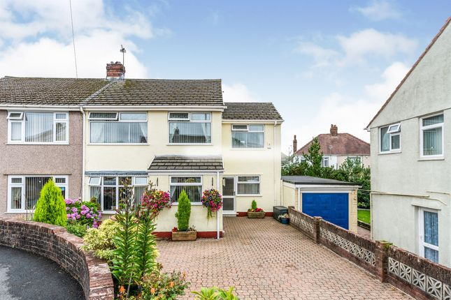 Thumbnail Semi-detached house for sale in Thomson Court, Garden Village, Swansea