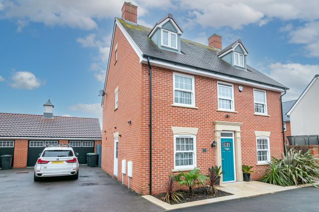 Thumbnail Detached house for sale in Betony Gardens, Stotfold, Hitchin