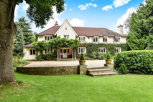 Thumbnail Detached house to rent in Main Road, Itchen Abbas, Winchester
