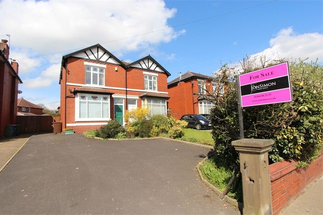 Thumbnail Semi-detached house for sale in Bury & Bolton Road, Bury, Manchester, Lancashire