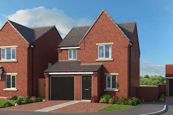 "Thumbnail Property for sale in ""The Redwood At High Farm"" at Off Trunk Road, Normanby, Middlesbrough"