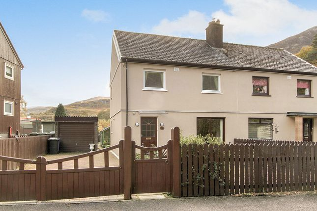 Thumbnail Semi-detached house for sale in Rob Roy Road, Kinlochleven, Argyll, Highland, Scotland