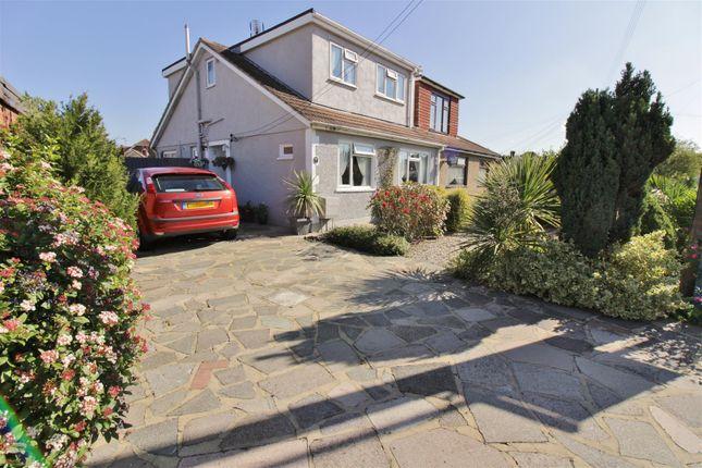 Thumbnail Semi-detached house for sale in Chancel Close, Benfleet