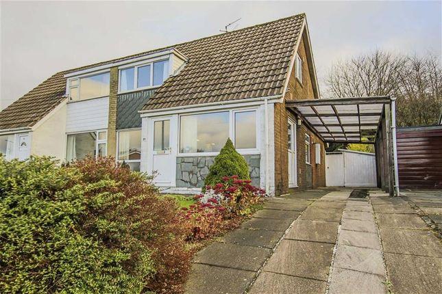 Thumbnail Semi-detached bungalow for sale in Pennine Way, Brierfield, Lancashire