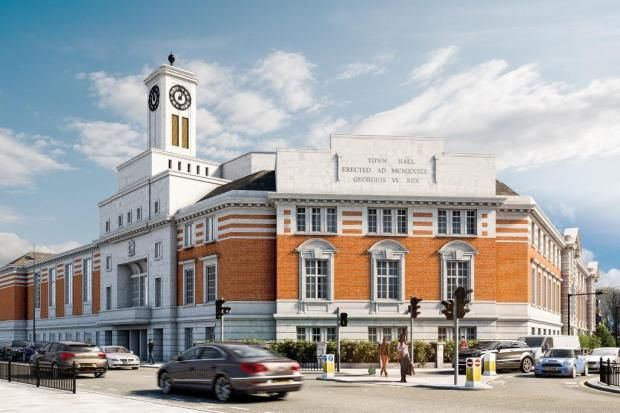 Thumbnail Flat for sale in The Old Town Hall, High Street, Acton, London