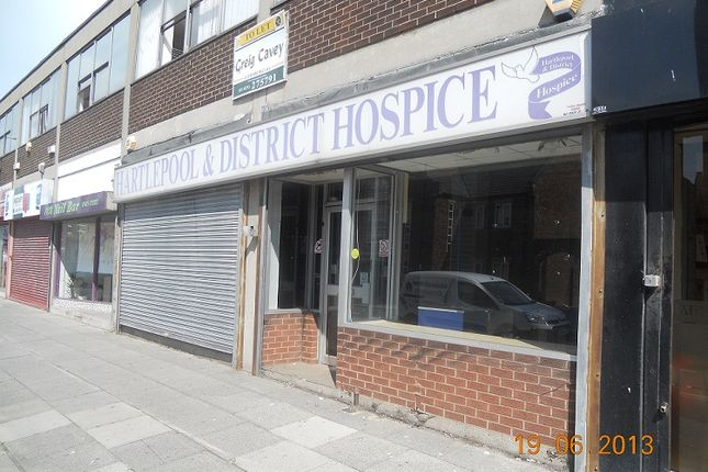 Thumbnail Retail premises to let in 66-68 Park Road, Hartlepool