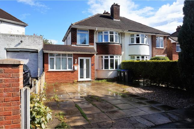 Thumbnail Semi-detached house for sale in Carter Road, Birmingham