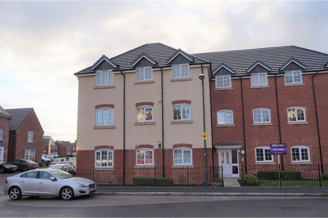Thumbnail Flat for sale in Poplar Close, Shrewsbury