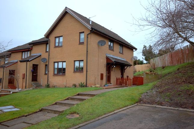 Thumbnail End terrace house for sale in Sutherland Place, Bellshill