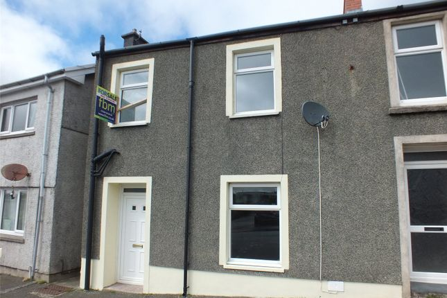 Thumbnail End terrace house for sale in Charles Street, Neyland, Milford Haven