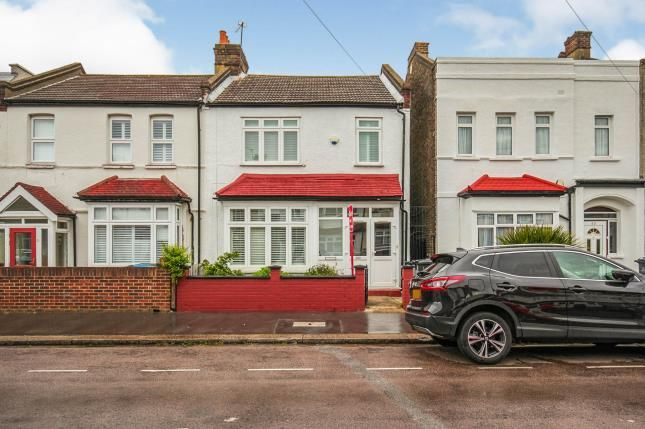 Thumbnail Semi-detached house for sale in Kynaston Road, Thornton Heath