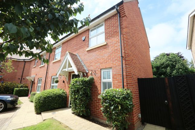 Thumbnail End terrace house for sale in Bell Hill Close, Billericay, Essex