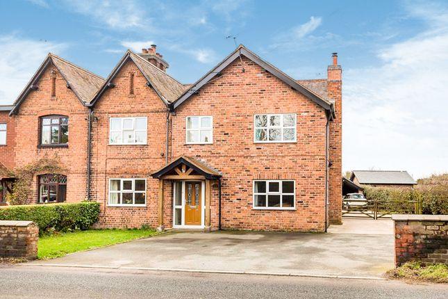 Thumbnail Semi-detached house for sale in Whitchurch Road, Bunbury Heath, Tarporley
