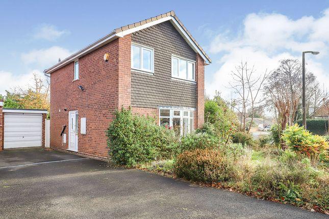 3 bed detached house for sale in Edward Road, Perton, Wolverhampton, West Midlands WV6