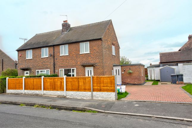 Thumbnail Semi-detached house for sale in The Glebe, Cossall, Nottingham