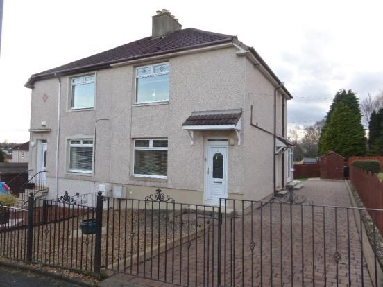 Thumbnail Semi-detached house for sale in Bellsdyke Road, Airdrie