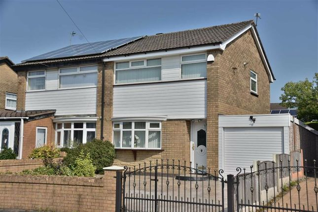 Thumbnail Semi-detached house for sale in Radnor Drive, Leigh