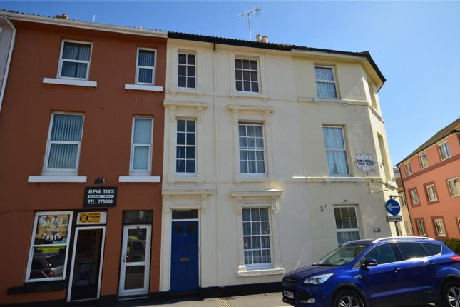 Thumbnail Flat for sale in Brunswick Street, Teignmouth, Devon