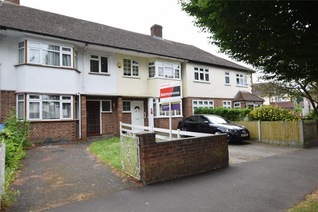 Thumbnail Terraced house to rent in Avenue Road, Harold Wood, Romford