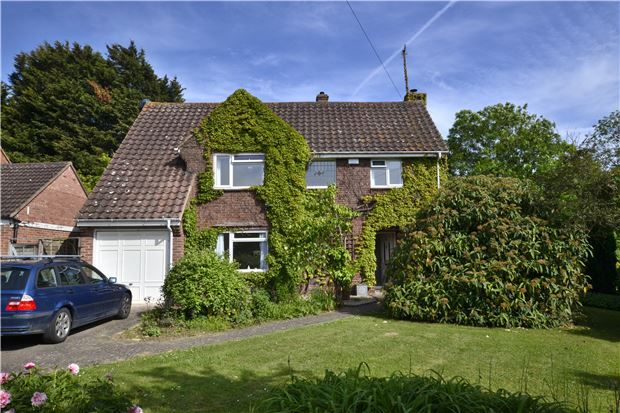 Thumbnail Detached house for sale in Carisbrooke Road, Hucclecote, Gloucester
