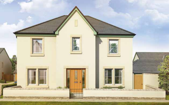 Thumbnail Detached house for sale in Plot 1, Station Road, Dunbar
