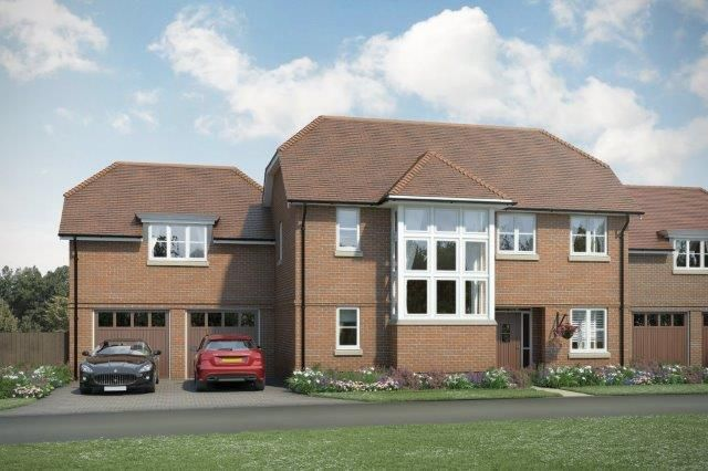 "Thumbnail Property for sale in ""The Napier"" at Rocky Lane, Haywards Heath"