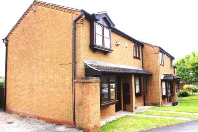 Thumbnail End terrace house to rent in Ellesmere Close, Arnold, Nottingham