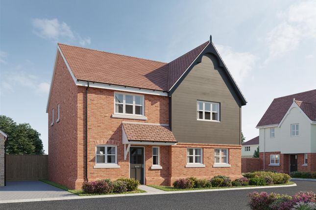 Thumbnail Semi-detached house for sale in The Primrose, Plot 37, Latchingdon Park, Latchingdon, Essex