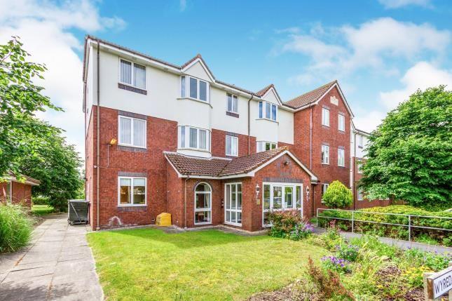 External of Wyredale Court, Harrow Avenue, Fleetwood, Lancashire FY7