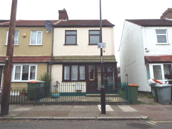 Thumbnail End terrace house for sale in Stokes Road, London