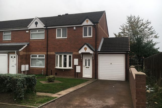 Thumbnail Semi-detached house to rent in Raleigh Close, Handsworth, Birmingham