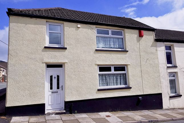Thumbnail End terrace house to rent in Ystrad -, Pentre