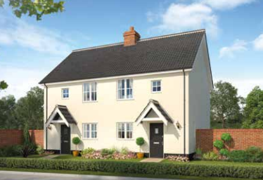 Thumbnail Semi-detached house for sale in Bull Lane, Long Melford, Sudbury