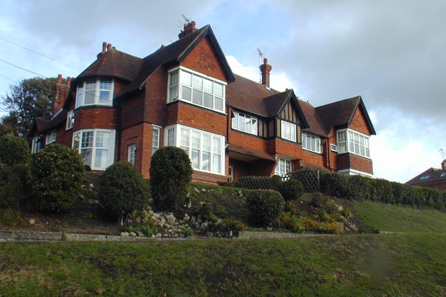 Thumbnail Flat to rent in Cannongate Road, Hythe