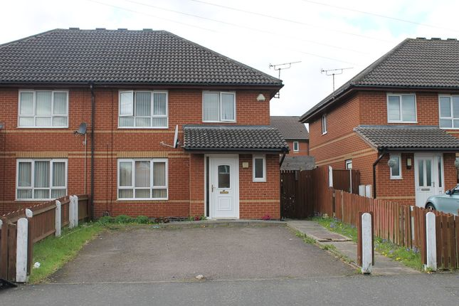 Thumbnail Semi-detached house for sale in Helmsley Road, Leicester