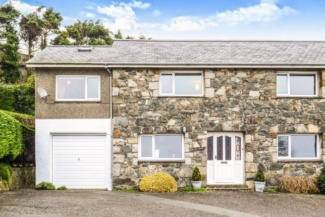 Thumbnail Semi-detached house for sale in Caernarvon Road, Pwllheli, Gwynedd
