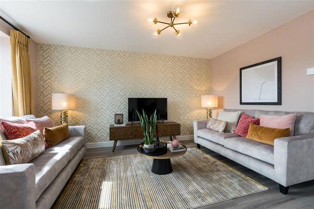 "Thumbnail Semi-detached house for sale in ""The Elliston - Plot 21"" at West End Lane, New Rossington, Doncaster"
