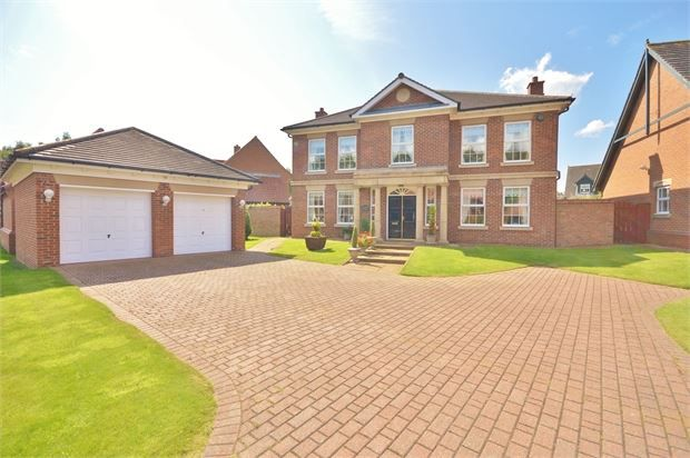 Thumbnail Detached house for sale in Shrigley Close, High Generals Wood, Washington, Tyne & Wear.