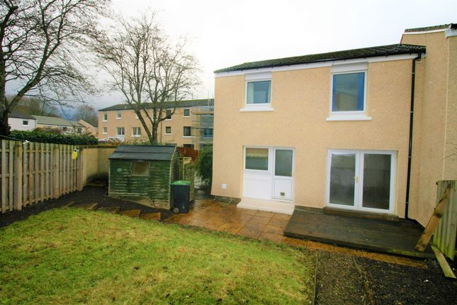 Thumbnail End terrace house for sale in Neidpath Court, Tweedbank