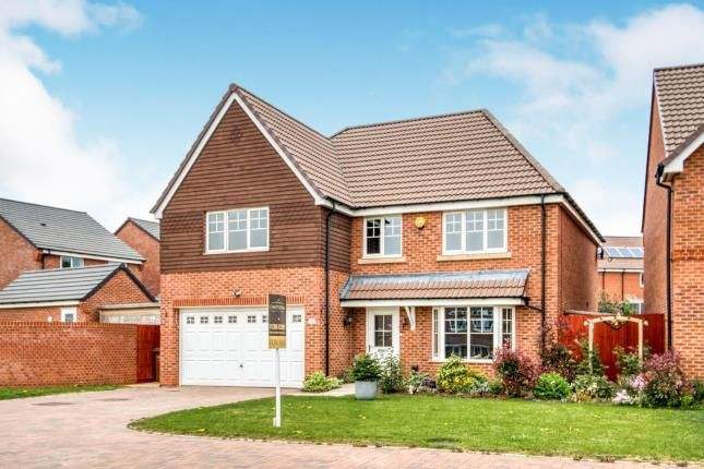 Thumbnail Detached house for sale in Sunset Way, Evesham, Worcestershire