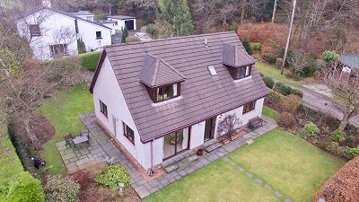 Thumbnail Detached house for sale in Acharn, Old Edinburgh Road, Minnigaff