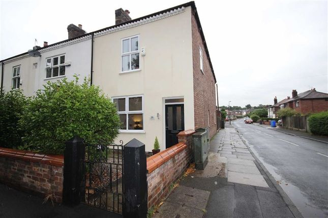 Thumbnail Terraced house to rent in Roe Green, Worsley, Manchester